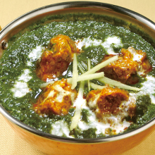Spinach curry