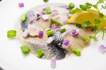 Marinated herring