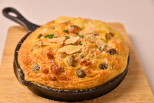 Souffle cheese omelet