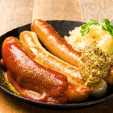 Assorted sausage, 3 kinds