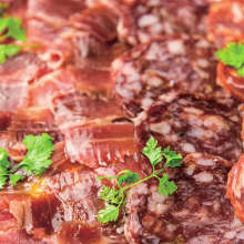 Iberian pork chorizo salami