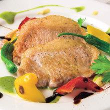 Iberian pork teppanyaki