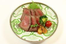 Roast beef Carpaccio