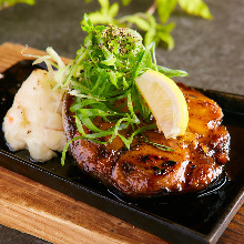 Tuna's tail steak