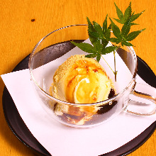 Kinako (soybean flour) ice cream