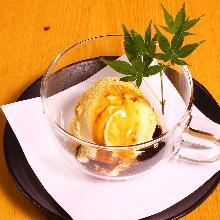 Kinako (soybean flour) ice cream