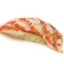 Splendid alfonsino sushi
