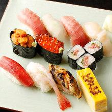 Assorted extra premium nigiri sushi