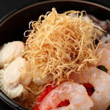 Seafood monja