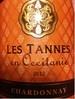 LES TANNES en Occitanie CHARDONNAY/France