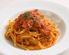 Blue Crab & Leeks with Tomato Sauce - Linguine