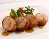 Daisen Chicken Involtini (grilled stuffed chicken breast)