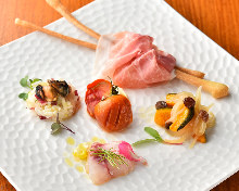 Assorted appetizer of the day, 3 kinds