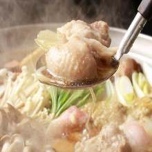 Chicken sumo wrestlers' stew