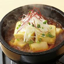 本格四川風石焼きマーボー豆腐