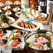 6,000 JPY Course (11  Items)
