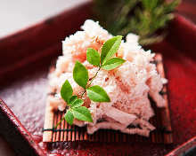 Edible raw white Senmai (third stomach)