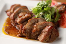 Oven-baked pork spareribs