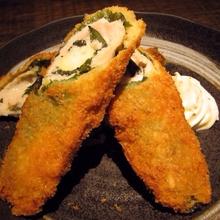 Deep-fried cheese