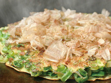 Scallion okonomiyaki