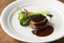 Rossini-style beef