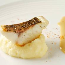 Sauteed fish