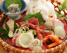 Assorted sashimi, 5 kinds