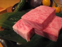 黒毛和牛サーロイン陶板焼き
