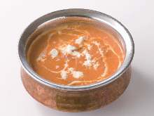 Cheese curry