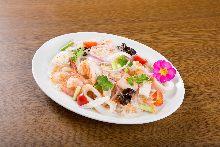 Bean-starch vermicelli salad
