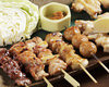 6 grilled skewers set