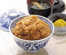 天國特製 かき揚丼