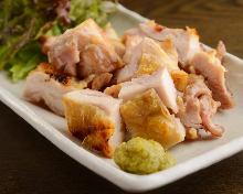 大山鶏の塩焼き