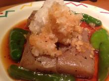Konjak (yam cake) steak