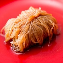 Konjac noodle (a type of oden)