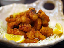 Fried spicy octopus