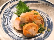 Monkfish liver with ponzu