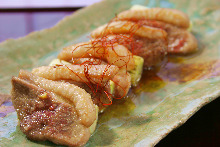 Aiyaki-grilled duck and green onion
