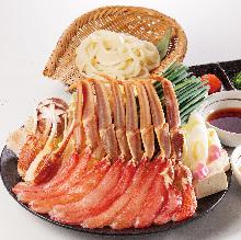 Crab shabu-shabu