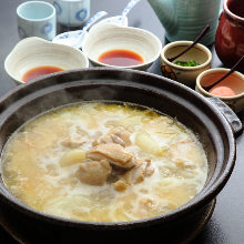 名物 水たき鍋