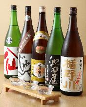 More than 10 kind of Japanese SAKE
