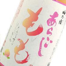 Aragoshi Peach Liquor