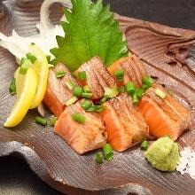 Seared salmon
