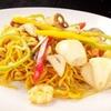 Yakisoba Noodles with Shrimp & Ginger