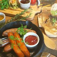 Assorted sausage, 6 kinds