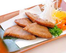 Fried Tuna Cheek Tatsuta-age(marinated and fried)