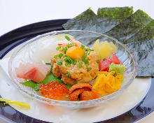 Natto (fermented soybeans)