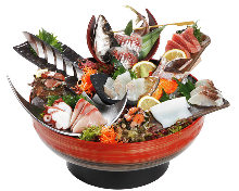 Assorted sashimi, 10 kinds