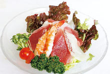Seafood salad with your choice of dressing