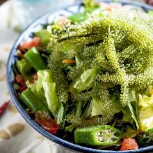 Sea grapes salad